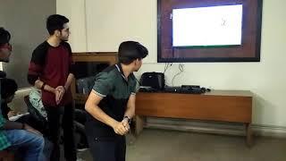 BIT Mesra Ranchi Noida Campus Animation And Multimedia Students Enjoying Motion Sensor Games