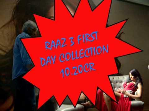 RAAZ 3 BOX OFFCICE 1ST DAY COLLECTION