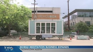 PeaceBox hopes to melt away more stress with second mobile meditation center