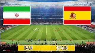 IRAN vs SPAIN | FULL MATCH & AMAZING GOALS | PES 2018 Gameplay PC