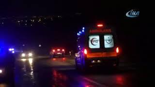 Denizli Honaz Karakurt Yolunda Kaza - Denizli Haberleri - HABERDENİZLİ.COM