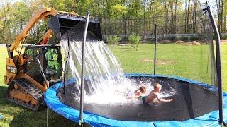 I GOT THEM!! **Homemade waterpark**