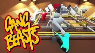 Gang Beasts - Meat Grinder [Father and Son Gameplay]