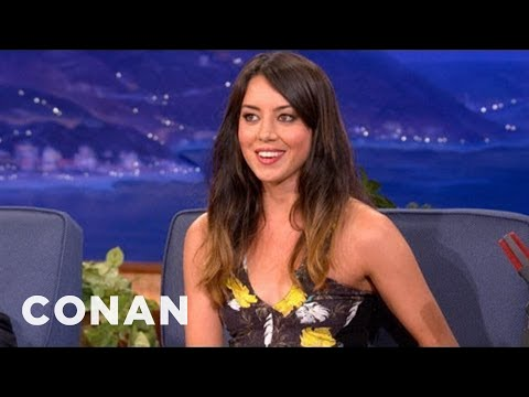 Aubrey Plaza: F#*% You Old People, I'm Going To Live Forever! - CONAN on TBS