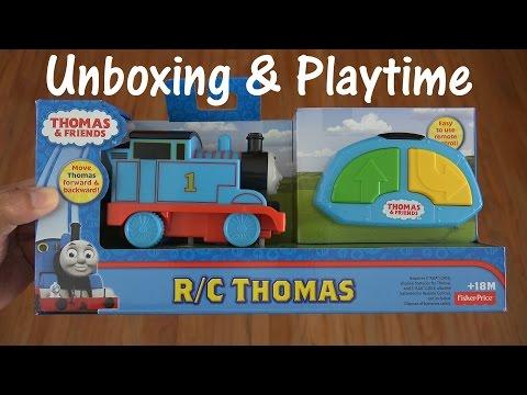 Thomas & Friends Unboxing RC Thomas the Tank Engine Toy w Maya