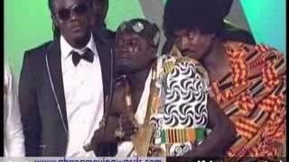 GHANA MOVIE AWARDS 2013 LIL WAYNE CRIES OVER  AWARD