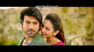Telugu movie (Bruce Lee -  the fighter) 720p hot video song