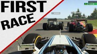 F1 2015 - First AI Race