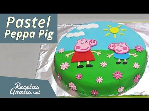 Pastel de Peppa Pig Peppa Pig Cake