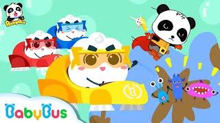Los Héroes de Burbujas | Canciones Infantiles | Hábitos Saludables Para Niños | BabyBus Español