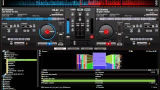 virtual dj  mix el chombo