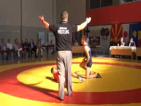 61 kg. Laszlo Jozsef (HUN) vs Rijad Redzepi (MKD), XXXX Macedonian Pearl, 04.06.2016, Skopje