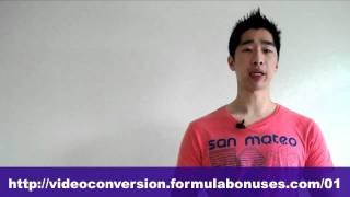 Maria Andros' Video Conversion Formula Introduction