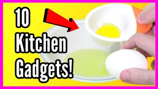 10 Must Have Kitchen Gadgets