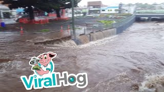 Downpour Causes Extreme Flooding in Australia || ViralHog