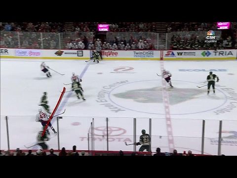 Wild get controversial late equalizer vs Capitals