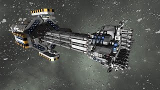 Space Engineers - Automated mining ship : The Strain