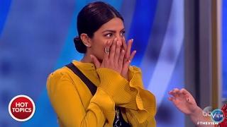 Priyanka Chopra on Nose Job on The View | 2.10.17