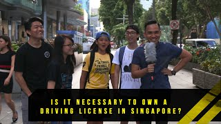 Is Having A Driving License Important In Singapore? | Word On The Street | EP 13