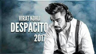 DESPECITO FT.VIRAT KOHLI | virat kohli singing despecito
