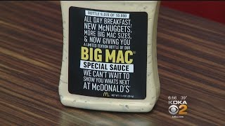 McDonald's To Give Out Free Bottles Of Big Mac Special Sauce