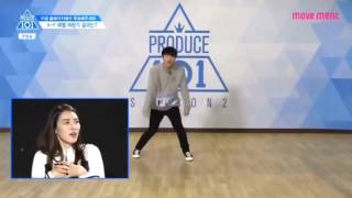 Yoon Hee Seok ( Produce 101 ) - one of the 6 trainee recorded Pick Me song🎵🎶