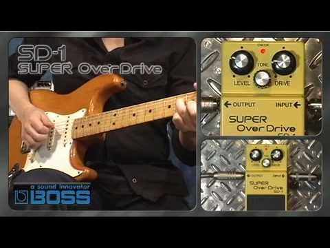 SD 1 SUPER OverDrive BOSS Sound Check