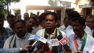 JSGLIVE.IN - NABA KISHORE DAS's Interveiw after Filing nomination for Jharsuguda Assembly Seat