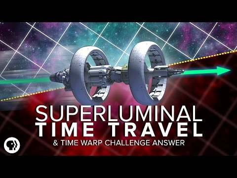 Superluminal Time Travel Time Warp Challenge Answer Space Time