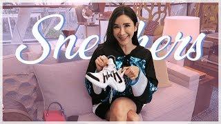 SNEAKER SHOPPING IN LV! | JAMIE CHUA