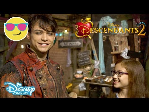 Descendants 2 | Behind the Scenes with Dizzy - Part 2 | Official Disney Channel UK