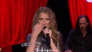 Celine Dion - Loved Me Back to Life - Live on Ellen 11/9/13 [HD]