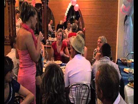 Конкурс на свадьбемузыкальная шляпа