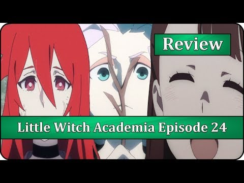 It's Not Just a Stick, It's a Magic Stick - Little Witch Academia (TV) Episode 24 Anime Review