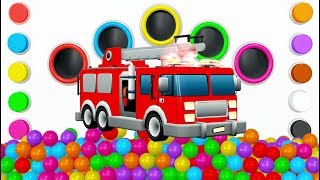 Colors for Children to Learn with Street Vehicles - Educational Videos - Toy Cars for Kids