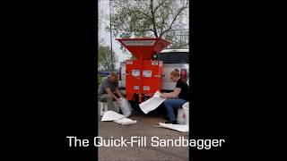 Fill Sandbags Faster with the Quick-Fill Sandbagger