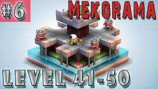 #6 MEKORAMA Gameplay Walkthrough | Level 41 42 43 44 45 46 47 48 49 50 | iOS Android Full HD ENGLISH