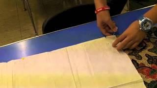 Apron Pattern Cutting 7