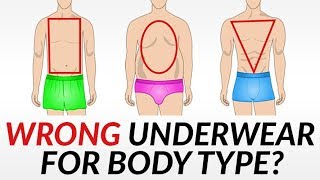 STOP Wearing the Wrong Underwear! | The Right Boxers, Briefs, Or Trunks For Your Body Type