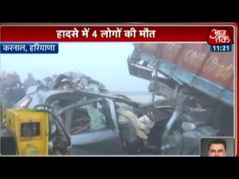 Xxx Mp4 Four Killed As Fog Leads To Accident In Karnal 3gp Sex