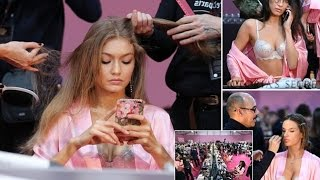 Sisters Bella and Gigi Hadid join world's top supermodels in preparing for Victoria's Secret Paris s
