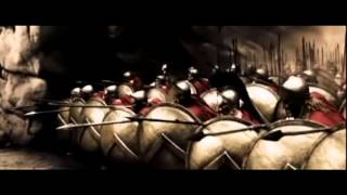 Persians first attack 300