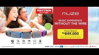 MUZE - Wireless Speaker by Polytron