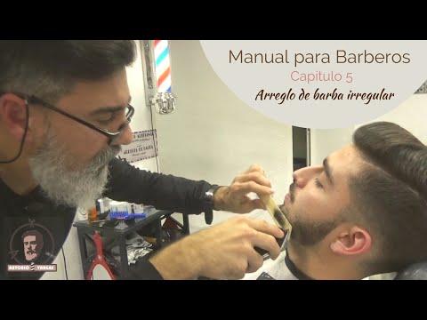 Manual para Barberos: Capítulo 5 - Arreglo de barba irregular