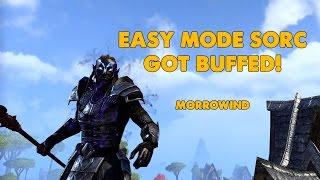 ESO - Easy Mode Sorc Build Got BUFFED! - Morrowind