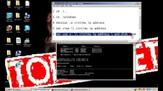 How to hack PC using CMD and IP address only