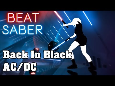 Beat Saber - Back In Black - ACDC (custom song)   FC