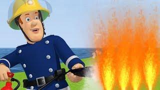 Sam el Bombero en Español 🌟  El Bombero Sam está luchando contra el fuego 🔥  Capítulos completos