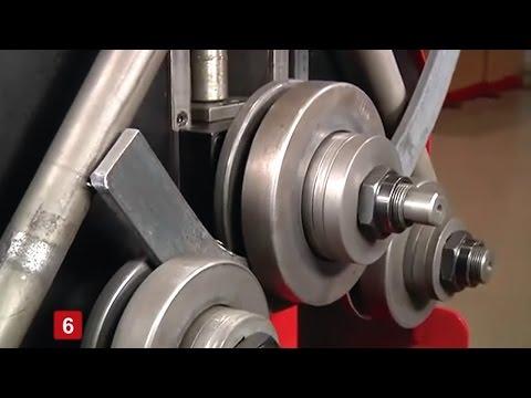 DOBLADORA DE TUBOS Y PERFILES NARGESA MC200 PROFILE BENDING MACHINE CINTREUSE DE PROFILÉ