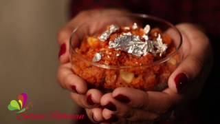 গাজরের ঝরঝরে হালুয়া ॥ Shredded Carrots Halwa || R# 72